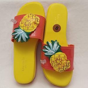 Kate Spade Limoncello Pineapple Flatform S…
